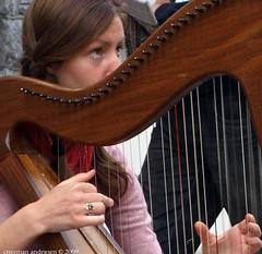 ...Irish girl on Quay Street ... 1 (ChristianofDenmark) Tags: ireland music galway weather concentration sunnyday galwayartsfestival underthebigsky irelandinmyheart