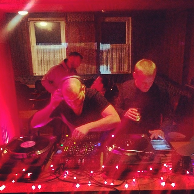 On the one & twos at xmas party