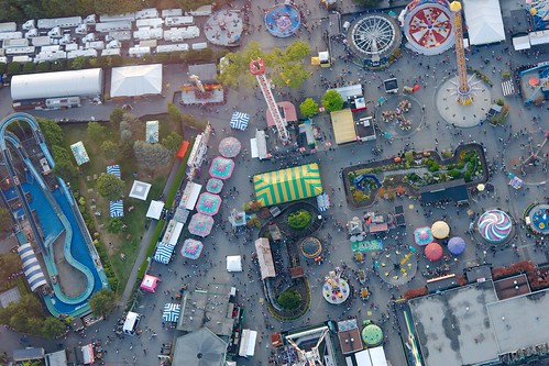 Playland from way above