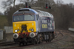 57307 0Z31 (Rossco156433) Tags: train scotland diesel loco locomotive thunderbird kilmarnock ayrshire ladypenelope drs bodysnatcher ladyp class57 57307 eastayrshire directrailservices