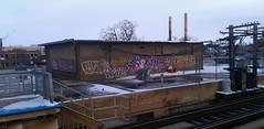 DWRK LIVES (Mr. Montrose) Tags: brown chicago graffiti cab line lives montrose tfo dwrk