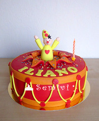 b*mba iliano 1 (semivi) Tags: birthday cake drum clown first drummer taart bumba semivi