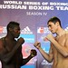 11/03/2014 WEIGH IN RUSSIAN BOXING TEAM vs CUBA DOMADORES