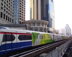 BANGKOK BUILDINGS AND BTS TRAIN (patrick555666751) Tags: bangkok buildings and bts train building thailand thailande thailandia asie du sud est south east asia flick heart group