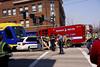 Green Line Crash Drill 2 (HOARYHEAD) Tags: minnesota accident stpaul lightrail saintpaul greenline universityave stpaulmn mockaccident raymondave nikond700 nikon28300mm greenlinecrashdrill universityandraymond