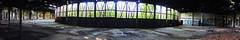 Panorama Ringlokschuppen 5 (Ni1050) Tags: panorama heritage abandoned architecture germany lost deutschland graffiti rust industrial place decay sony shed rusty eisenbahn railway places db steam nrw locomotive former rost desolate bahn derelict m2 abandonment gleise corrosion rostig verlassen rls dampflokomotive lokomotive lok roundhouse urbex 2014 stillgelegt drehscheibe korrosion verfall industriekultur ringlokschuppen lokschuppen lostplace ausrangiert rx100 aufgegeben glas broken ni1050 rx100m2 rls5 ninicrew
