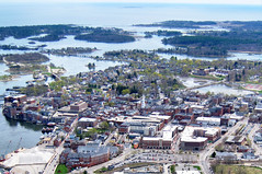 Portsmouth, NH (Astaken) Tags: me canon downtown view waco maine nh powershot portsmouth atlas rides llc aero biplane sanford 1933 airial s95 ubf2 sagelight