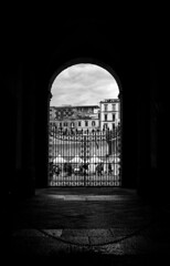Napoli, 2014 (Lilia_na) Tags: trip viaje light blackandwhite blancoynegro luz napoli gita luce biancoenero