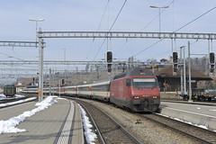 Berner Oberland (4) (Peter de Winter) Tags: schweiz sbb bern ch spiez re460 ltschbergbahn einheitswageniv