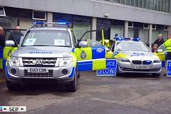 BMW F10 5series+Mitsubishi Shogun Dumbarton 2014 (seifracing) Tags: rescue cars car scotland mod cops scottish police emergency polizei spotting services policia recovery strathclyde polis polizia ecosse 2014 policie seifracing sj62duy eu13cdn