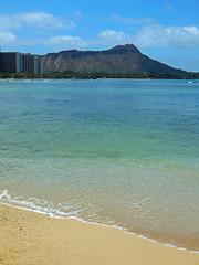 Diamond Head (Hawai'i Naturalist) Tags: beach hawaii waikiki diamondhead tropical honolulu