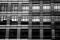 Glass, bricks and grey sky (affvalente) Tags: windows sky bw white black london glass angel canon 50mm grey blackwhite bricks perspective fray andrevalente affvalente