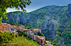 PEILLE ~ Perched medieval village XIIc. (capvera) Tags: france medieval monaco peille prealpes xiie villageperché perchedvillage
