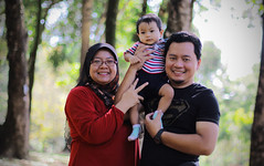 With Superdad dan Supermom (Yuzzmann) Tags: family baby superman superdad 5dmk2