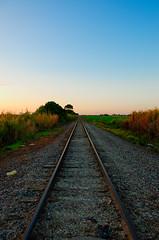 Southbound Railroad Near Krome