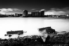 Ghosts Of The Past (john&mairi) Tags: longexposure bw monochrome mono scotland riverclyde blackwhite industrial glasgow flats le pollution renfrew dereliction yoker