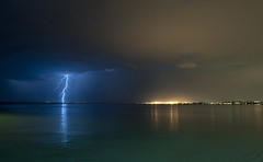 Freo lightning (Birdman D700) Tags: summer storm australia lightning fremantle thunder