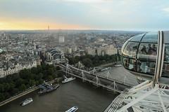 London Eye View (Mr. Gee) Tags: london londoneye attraction high sky aerial tourists uk unitedkingdom thames