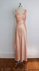 Vintage 1930s Silk Satin Bias Gown (thisbluebird) Tags: vintage silk lingerie gown satin nightgown vintageclothing silksatin vintagelingerie biascut silkgown vintagenightgown liquidsatin thisbluebird
