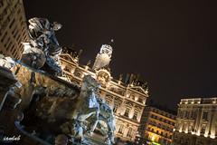 Fontaine Bartholdi - Lyon (iandub74) Tags: place lyon fontaine nuit bartholdi terreaux iandub iandub74