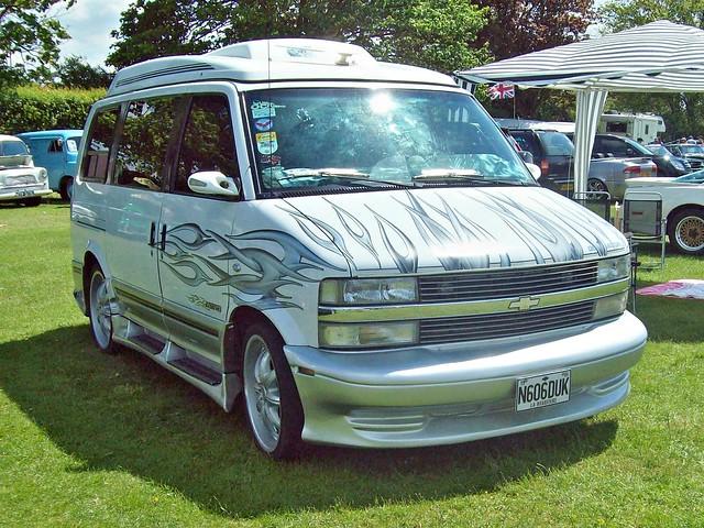 usa chevrolet astro rv 1990s enfield astrovan n606duk