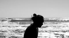 (*paz) Tags: ocean chile sea blancoynegro water rural contraluz blackwhite playa bn surdechile nocolor ixregion summer2015 yenehue