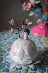 boite boule kokeshi (celine.roumagnac) Tags: handmade fimo zen kokeshi han dcoration boule boite polymer polymre faitmain pieceunique
