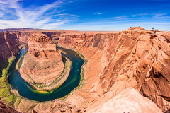 Horshoe Bend (LB-fotos) Tags: arizona usa river landscape us colorado williams natur fisheye 8mm landschaft 65mm horshoebend