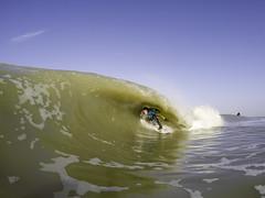Domburg Tube.. (Danny Bastiaanse) Tags: holland dutch surf surfer tube barrel zeeland surfing shortboard domburg
