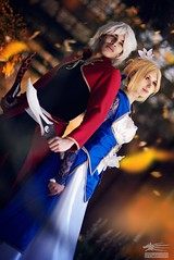 Together (Snowgrimm) Tags: autumn anime cute fall germany couple cosplay manga together convention fatestaynight dokomi