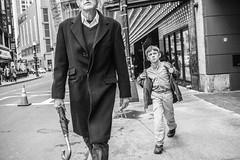 Untitled #6 (-BenBailey-) Tags: street monochrome boston photography theater paramount