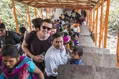 Mr Jack & Mr Friend (Tin-Tin Azure) Tags: world india heritage temple unesco archaeological mata gujarat pavagadh kalika champaner