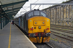 37409,Carlisle (56074 Kellingley Colliery) Tags: tractor west train coast over bank rail class highland preston 37 sands carlisle grange services barrow direct foxfield kirkby furness kents drs cumbrian 37409 37402 37401 kingmoor