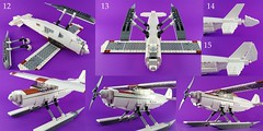 Build your own Bush Plane - Part 2 (Norweasel) Tags: plane airplane bush lego aircraft tundra floats supercub bushplane