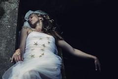 A Christmas dream for a mermaid (Sus Blanco) Tags: christmas stars starfish dream mermaid conceptual darkart