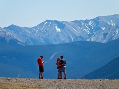 Dedicated Hikers (benlarhome) Tags: canada kananaskis hike alberta scramble scrambling