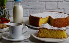 Una torta per celebrare il World Milk Day (RicetteItalia) Tags: latte colazione ricette