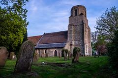 Holy Trinity Scoulton Church (Neal_T) Tags: uk sunset church spring fuji norfolk norwich fujifilm wayland holytrinity watton xt1 soulton