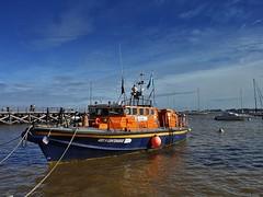 XP70_DSCF2084zaB (A. Neto) Tags: blue sky color river boats uruguay pier fujifilm coloniadelsacramento xp70