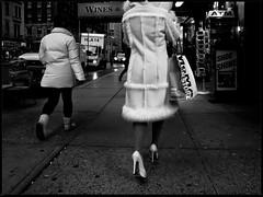 ny step (mfive6) Tags: bw ny nikon manhattan streetphotography heels p7000
