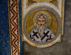 2016-05 Mosaics Phase XI Installation 013A1211 (Greek Orthodox Church of the Holy Cross) Tags: california church greek us belmont mosaic orthodox iconography tonelli
