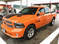 IMG_3690 (Smalltowntx87) Tags: orange sport cab wheels pickup automotive semi tires crew american dodge plus trucks washed hemi ram 1500 v8 detailed ignition iphone 2015 6s 57l
