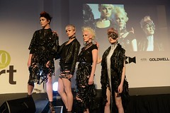 Model showcase at Fashion Conference, London