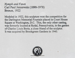 DUC_8024r Nymph and Fawn Carl Paul Jennewein (crobart) Tags: sculpture gardens paul south fawn carl carolina inlet 1922 nymph brookgreen murrells jennewein
