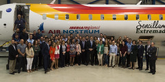 Mariano Rajoy visita las oficinas de Air Nostrum (Partido Popular) Tags: rajoy pp marianorajoy partidopopular 26j eleccionesgenerales bonig isabelbonig
