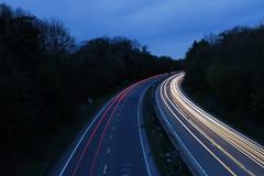 Light Trail (iam.josh) Tags: longexposure light lightpainting cars exposure dusk lighttrail