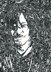 375((NormanReedusBday2)) (hillel_018) Tags: birthday uk blackandwhite usa 6 white black london art texture 1969 me monochrome walking dead artwork thankyou florida you mark 05 diary details badass january saints surreal first excited dixon 03 norman daryl 01 02 hollywood scribbles only late bday needs deadline challenge anxiety 08 hillel the staedtler boondock zavala odissey blacksoul reedus hillelzavala 2015l biggerisbetterbutnotalways
