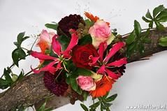 Met #Passiflora en #Gloriosa... (floralworkshops) Tags: dahlia passiflora gloriosa