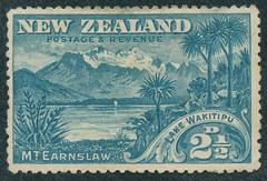 Lake Wakitipu (- Jan van Dijk) Tags: newzealand mail stamp nz postage postzegel briefmarken lakewakitipu mtearnslaw briefmark