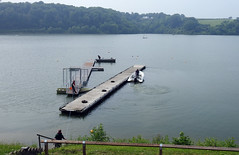 Llandegvedd Reservoir, Coed-y-Paen, Pontypool 9 June 2016 (Cold War Warrior Follow Me on Ipernity) Tags: reservoir moorings pontypool llandegfeddreservoir